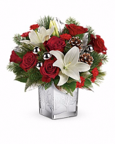 Frosted Forest Christmas Keepsake Bouquet