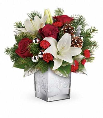 Frosted Forest Floral Bouquet