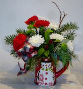 FROSTY FUN Christmas arrangement