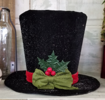 Frosty Hat Christmas Decor