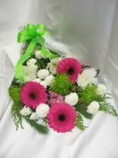 Frosty Pinks Fresh cut bouquet