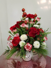 Frosty the Snowman Delight Arrangement
