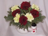 Frosty The Snowman Christmas Day Flowers    Holiday Cheers Flowers