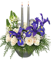 FROSTY TWILIGHT Floral Arrangement