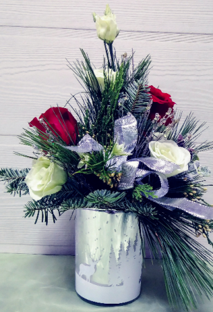 Frosty Wishes Bouquet