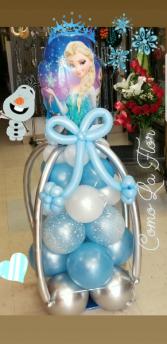 Frozen Balloon Princess  Balloon Bouquet