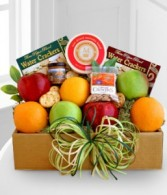 Fruit and Cheese Box Gift Basket