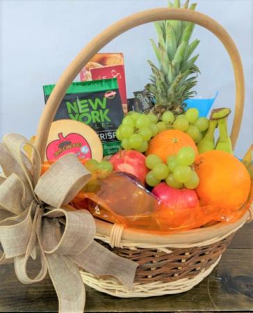 Fruit and Cheese Luxury Basket Gift Basket