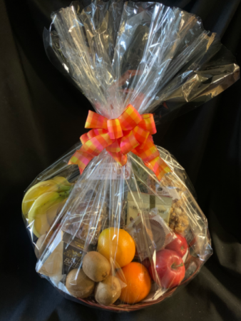 Fruit and Goodies (NO FRUIT AT THIS TIME) Due to Covid-19 Restrictions Gourmet Basket