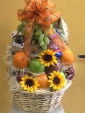 Fruit and Gourmet basket gift basket