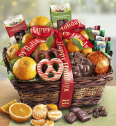 Fruit and Gourmet Gift Basket Fruit and Gourmet