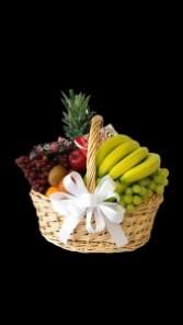 Fruit & Moonstruck Chocolate Basket - wh