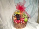 Fruit and more Basket filled with fruit, snacks
