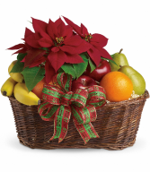 Fruit and Poinsettia H1351A