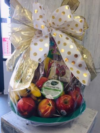 Fruit and Snack Basket Gift Basket