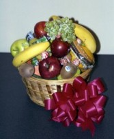 fruit and snack basket mix