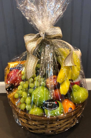 Fruit Basket  in Lakeville, MA | Between the Roses Florist
