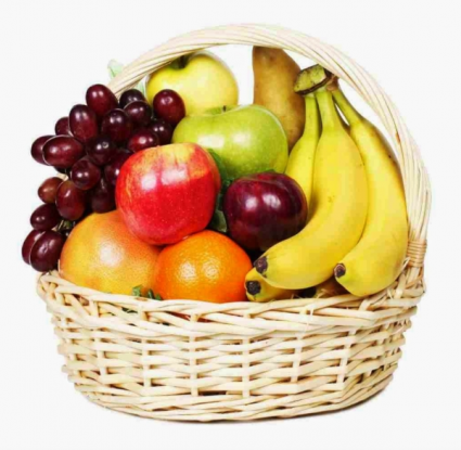 Fruit basket Assortment of fresh fruit