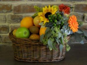 Fruit and Flower Baskets Fruit Baskets in New Orleans, LA | HARKINS THE FLORIST