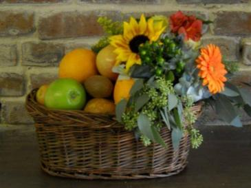 Fruit and Flower Basket Fruit Baskets