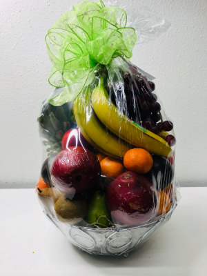 Fruit Basket Gift Basket in North Bend, OR | PETAL TO THE METAL FLOWERS