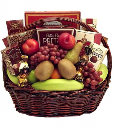 Fruit & Chocolate Gift Basket