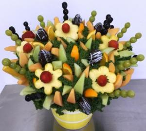 Fruit Garden Party Edible Bouquet Over 100 Skewers of Fruit!!!  Please give us 24hr notice in Springfield, IL | FLOWERS BY MARY LOU INC