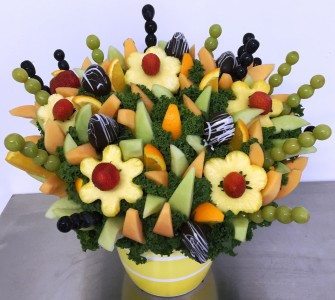Fruit Garden Party Edible Bouquet Over 100 Skewers of Fruit!!!  Please give us 24hr notice
