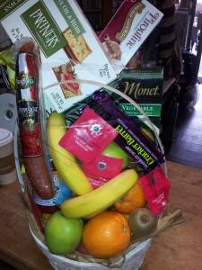Fruit & Gourmet Basket Food, fruit , snack