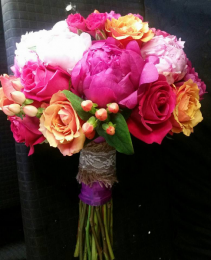 Fruit Punch Bridal Bouquet