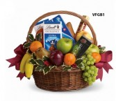 Fruits and Sweets Basket Gift Basket