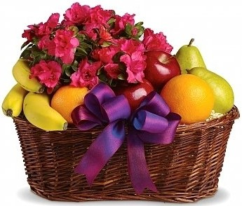 FRUITS &BLOMS BASKET