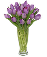 Purple Amethyst Tulip Bouquet