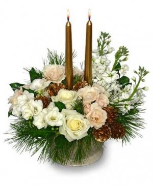 GLISTENING GOLD Floral Arrangement in Fair Lawn, NJ | Dietch's Florist