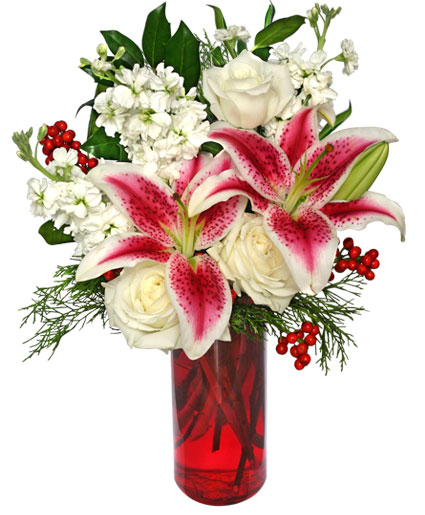 Holiday Beauty Arrangement