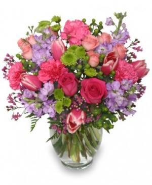 Poetic Heart Bouquet Floral Arrangement in Milan, IL | MILAN FLOWER SHOP QUAD-CITIES
