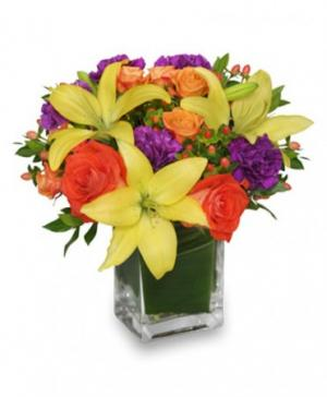 SHARE A LITTLE SUNSHINE Arrangement in Clearfield, UT | 4 SISTERS FLORAL & HOME DECOR