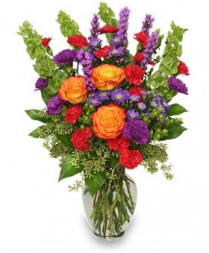 HOORAY FOR SUMMER! Bouquet in Caldwell, ID | Bayberries Flowers & Gifts