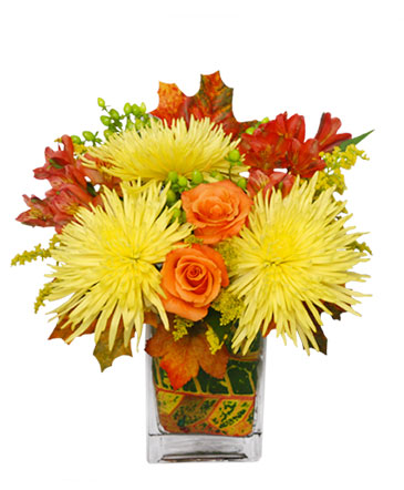 Windy Autumn Day Bouquet