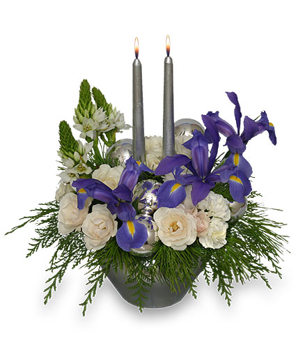FROSTY TWILIGHT Floral Arrangement