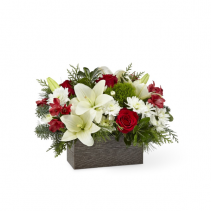 FTD I'LL BE HOME CHRISTMAS ARRANGEMENT
