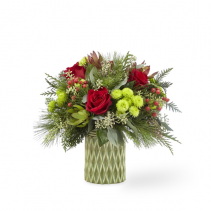 FTD STUNNING STYLE BOUQUET CHRISTMAS ARRANGEMENT