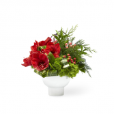 FTD WISH LIST BOUQUET  CHRISTMAS TABLE CENTERPIECE