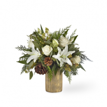 FTD JOYOUS GREETINGS CHRISTMAS ARRANGEMENT