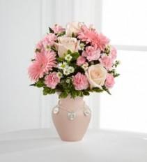 FTD Baby Girl Vase