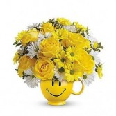 FTD Be Happy Mug Bouquet Arrangements