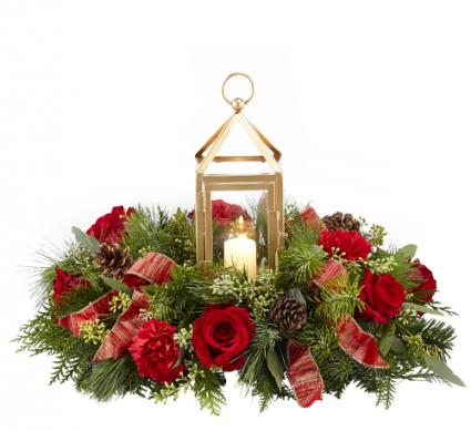 FTD Beautifully Bright   Christmas arrangement