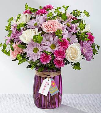 FTD Because you're special bouquet in Mason Jar