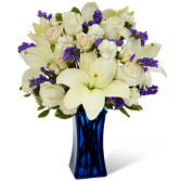 FTD Beyond Blue Bouquet