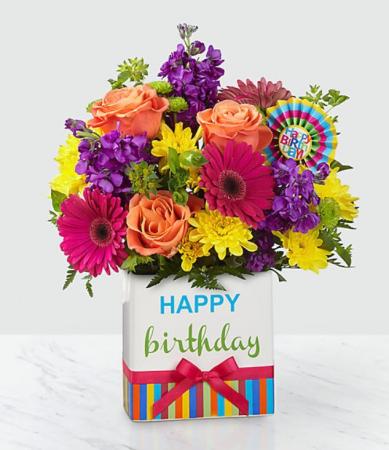 FTD Birthday Brights Bouquet Birthday